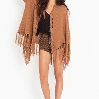 Fringed Knit Cardi - NASTY GAL