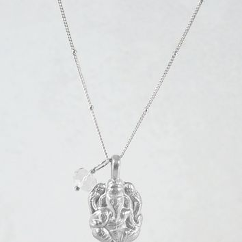 Journey to Success Ganesha Necklace Sterling Silver