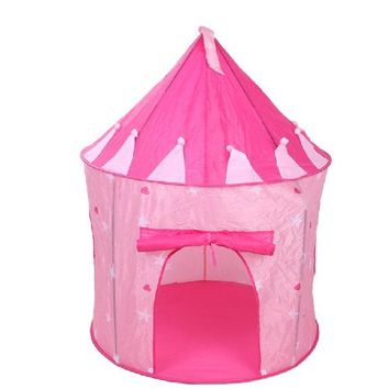 Play House Tent for Children Playhouse Portable Pink Pop Up Play  sc 1 st  Wanelo : playhouse tent for girls - memphite.com