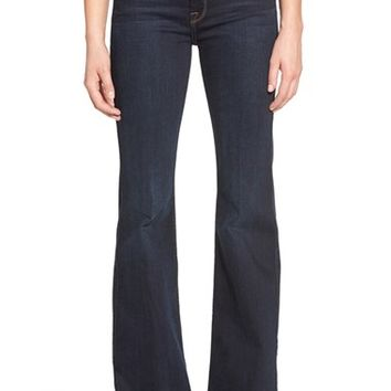 7 For All Mankind® 'Ginger' Creased Flare Jeans (Dark Madrid Night) | Nordstrom