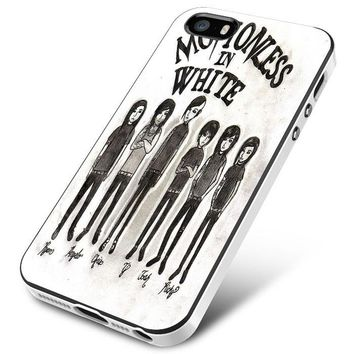 Motionless In White (monster cartoon) iPhone 5 | 5S | 5SE Case Planetscase.com