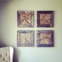 Reclaimed Wood Wall Art | barn wood | reclaimed | art