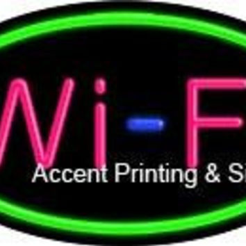 Wi-Fi Flashing Handcrafted Real GlassTube Neon Sign