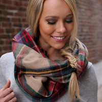 Pine Forest Scarf