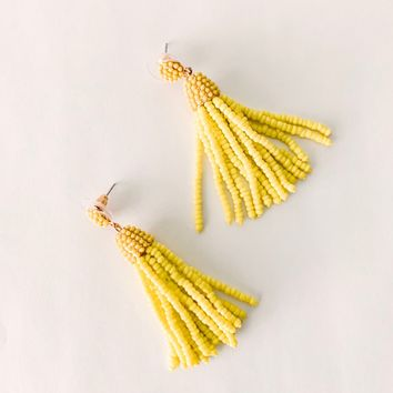 Luma Beaded Drop Earrings