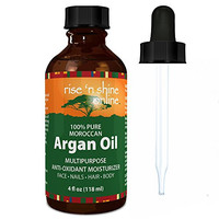 Rise 'N Shine Pure Moroccan Argan Oil, 4 oz.