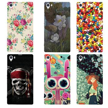 Emboss UV Print Hard Phone Case for Sony Xperia Z1 L39H C6902 C6903 C6906 Back Cover Cartoon PC Mobile Phone Shell