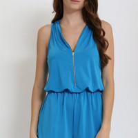 Turquoise Boutique Summer time Romper!