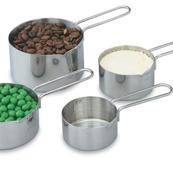 Vollrath 47119 4 Piece Measuring Cup Set