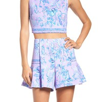 Lilly Pulitzer® Neri Crop Top & Shorts   Nordstrom