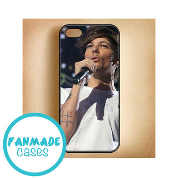 Louis Tomlinson iPhone 4/4s 5/5s/5c & iPod 4/5 Rubber Case