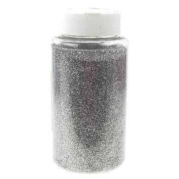 Fine Glitter Arts and Crafts, 1-pound Bulk, Silver