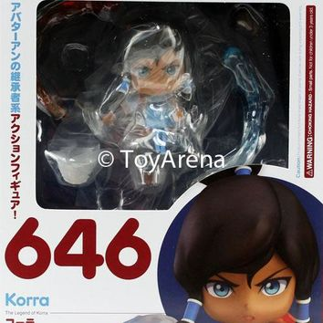 Nendoroid #646 Korra The Legend of Korra USA SELLER In Stock