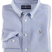 Polo Ralph Lauren Kids Shirt, Boys Oxford Shirt - Kids Boys 8-20 - Macy's