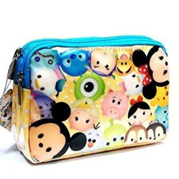 Authentic Tsum Tsum Cosmetic Bag Pouch Case
