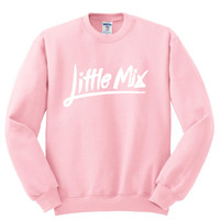 "Little Mix ""Little Mix Logo"" Crewneck Sweatshirt"