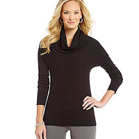 Investments Petite Cowlneck Sweater