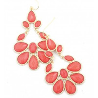 Turkish Earring - Coral