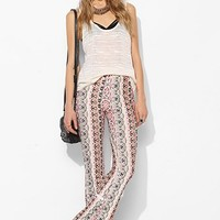 Raga Medallion-Print Bell Flare Pant - Urban Outfitters