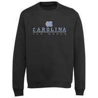 North Carolina Tar Heels Block V-Notch Sweatshirt - Charcoal