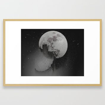 Sacred Moon Framed Art Print by duckyb