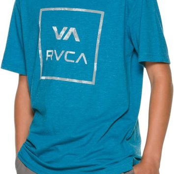 RVCA ALL THE WAY CRACKLE SS TEE