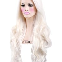 Frost Bite Lace Front Wig - Powder Room D