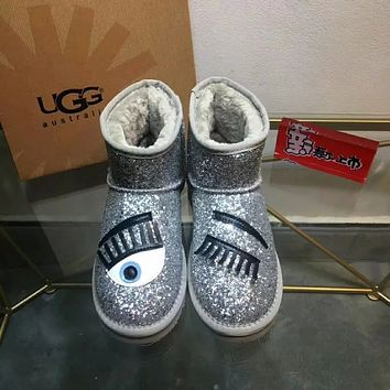 UGG Spikes CL Fashion Casual Running Sport Shoes Sneakers Slipper   Sandals High Heels Shoes