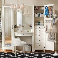 Hampton Vanity Set, Simply White,