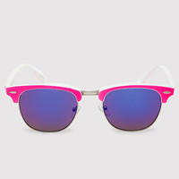 Dina Girl Sunglasses - Neon Pink
