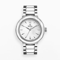 Bulova Watch - Women's Sport Stainless Steel & Ceramic - 98L172 (Grey)