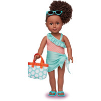 """African American 18"""" Realistic Baby Doll"""