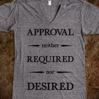 Approval Neither Required Nor Desired