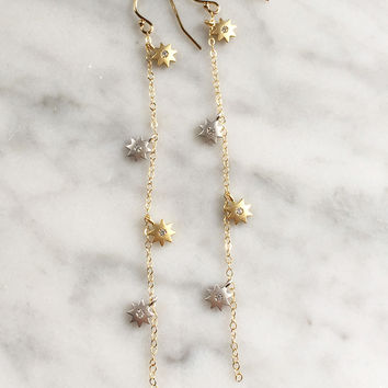 Stardust Earrings - Christine Elizabeth Jewelry