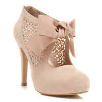 Sally Nude Town Shoe - Miss Selfridge