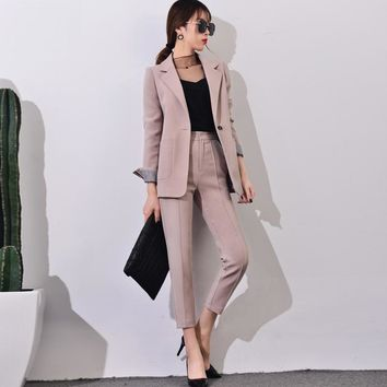 Pant Suits Sets Elegant Pantsuit