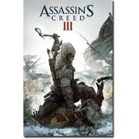 "Assassin's Creed III - Gaming Poster (Game Cover) (Size: 24"" x 36"")"