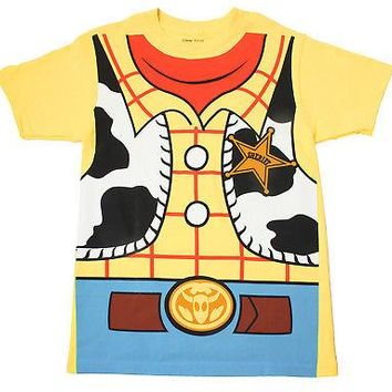 Disney Toy Story Shirt - Woody Costume T-Shirt