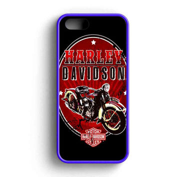 Harley Davidson Summer  iPhone 5 Case iPhone 5s Case iPhone 5c Case