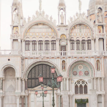 Venice Photography - Piazza San Marco, Venice, Italy Travel Photograph, Wall Decor