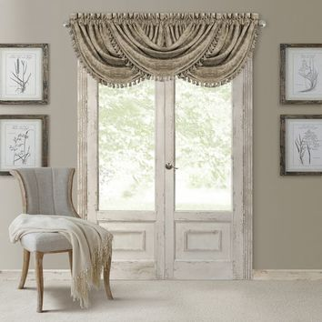 Elrene Antonia Blackout Rod Pocket/Back Tab Window Valance | Overstock.com Shopping - The Best Deals on Valances