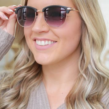 Perfect Harmony Sunglasses - Black