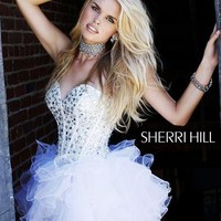 Sherri Hill Dress 2925 at Peaches Boutique