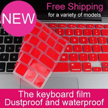 For Apple Macbook Air 11,Air 13,Pro 13 Retina,Pro 15 Retina Keyboard Sticker Protector UK EU Skin Silicone Laptop Cover Case