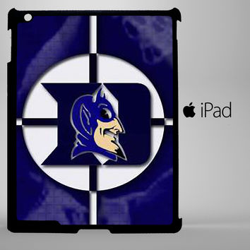 duke blue devils logo iPad 2, iPad 3, iPad 4, iPad Mini and iPad Air Cases - iPad