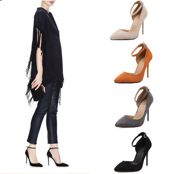 Stylish Summer High Heel Star Pointed Toe Sandals = 4804993796