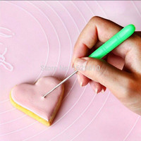 New Cake Decorating Scriber Needle Modelling Tool Marking Patterns Icing Sugar Craft Fondant Kitchen Baking Accessories