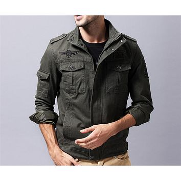 NEW Military jacket winter Cargo supreme Casual Jackets