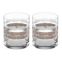Truro Platinum Double Old Fashioned - Set of 2
