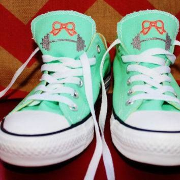 DCCKHD9 Monogrammed Crossfit Inspired Converse Shoes